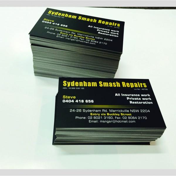 Sydenham Smash repair_Bcard