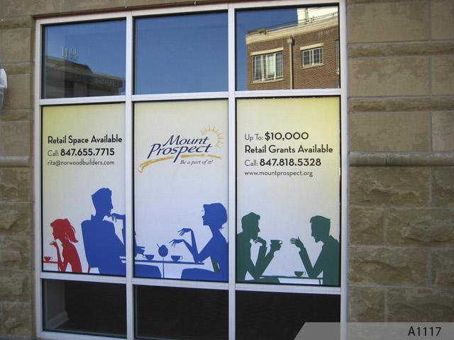 Vinyl Window Graphics : Outdoor vinyl banner standard